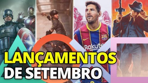 Confira os principais LANÇAMENTOS de SETEMBRO!