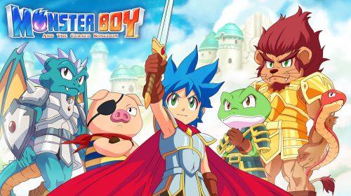 Estúdio confirma versão de Monster Boy and the Cursed Kingdom para PS5