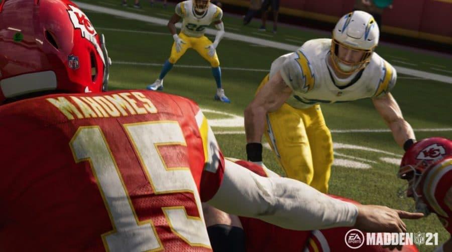Touchdown! Madden NFL 21 é o jogo mais vendido nos EUA em agosto