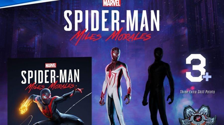 Versão de PS4 de Marvel's Spider-Man Miles Morales entra em pré-venda na PSN