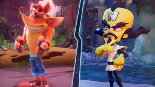 Modo multiplayer de Crash Bandicoot 4 é revelado oficialmente