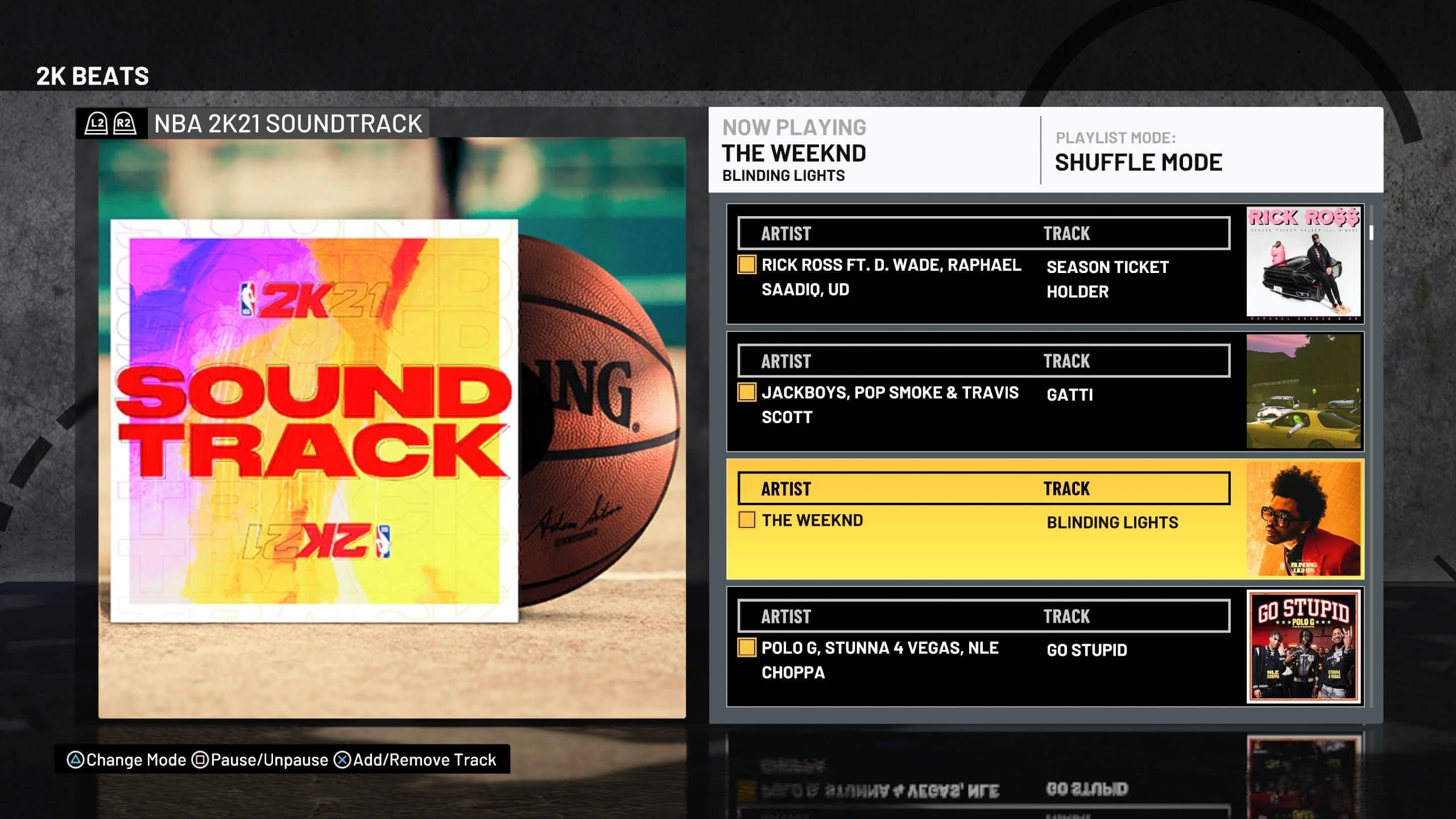 Trilha sonora de NBA 2K21 é incrível, como de costume