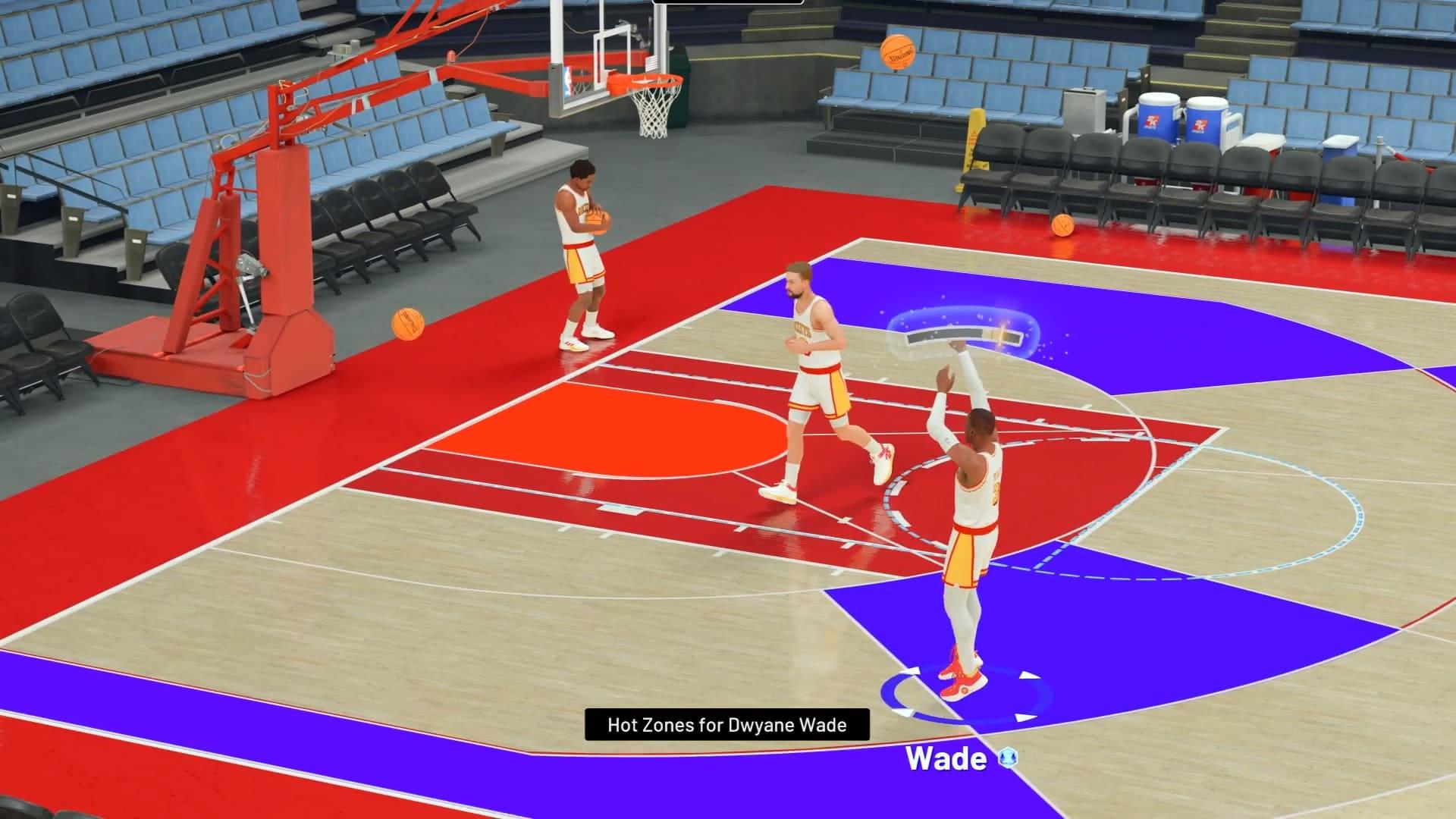 É preciso treinar arremessos em NBA 2K21