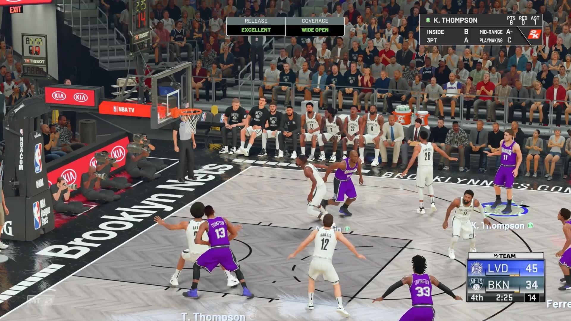 """Conseguir um """"excelente"""" não é fácil em NBA 2K21"""