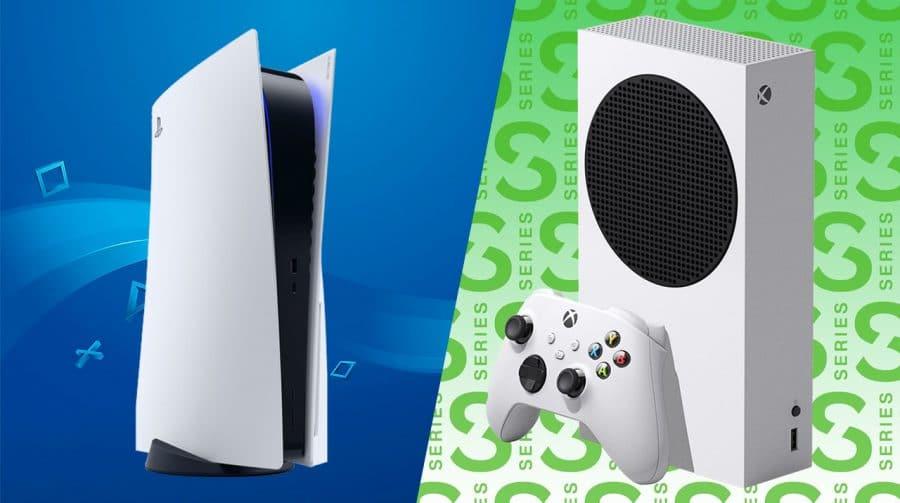 Compare as especificações do PlayStation 5 Digital e Xbox Series S