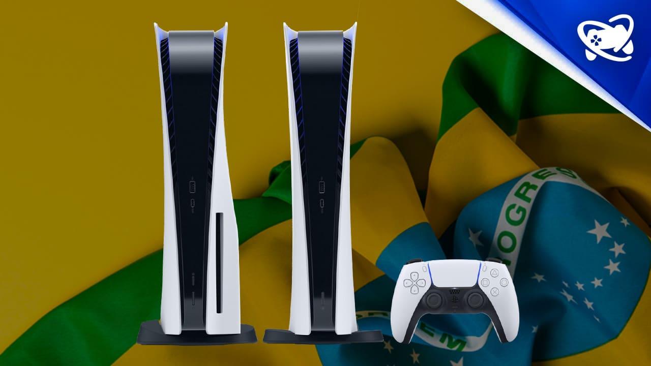 preço do PlayStation 5 no Brasil