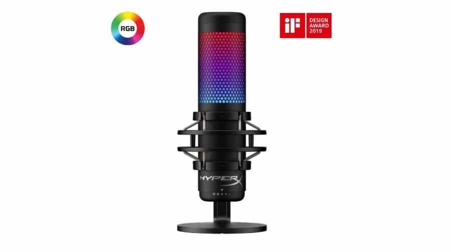 HyperX anuncia chegada do microfone QuadCast S no Brasil