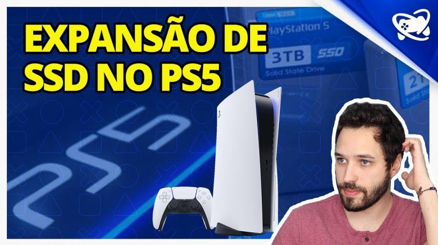 Explicamos como vão funcionar os HDs externos e SSDs no PS5