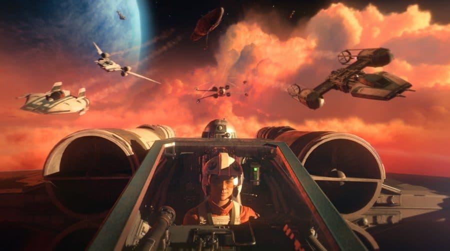 Hora de levantar voo! Star Wars: Squadrons está pronto