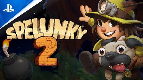 Spelunky 2 já disponível no PS4; Veja as primeiras notas do jogo!
