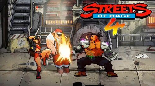 Streets of Rage 4 chega a 1,5 milhão de cópias vendidas