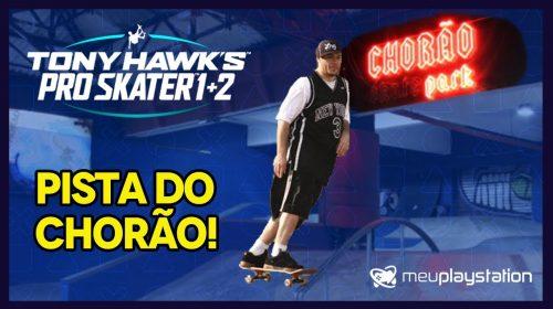 Jogando na PISTA DO CHORÃO em Tony Hawk's Pro Skater 1 + 2!