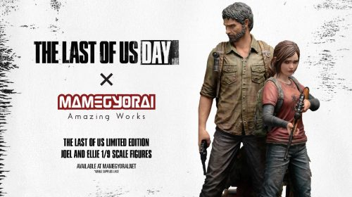 Naughty Dog revela belas estatuetas de Joel e Ellie, de The Last of Us