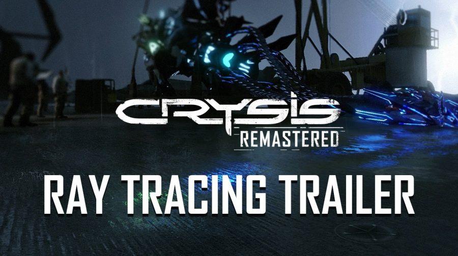 Novo trailer de Crysis Remastered destaca ray tracing no PS4 Pro