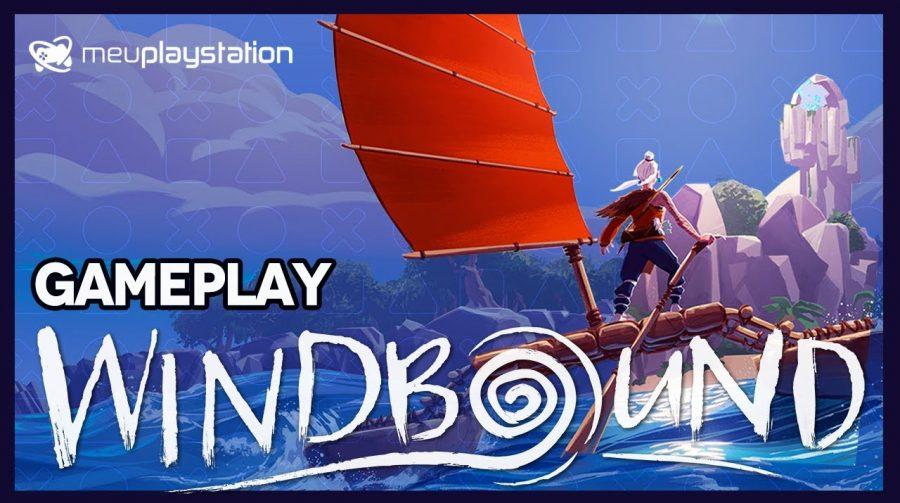 WINDBOUND | Gameplay de SOBREVIVÊNCIA!