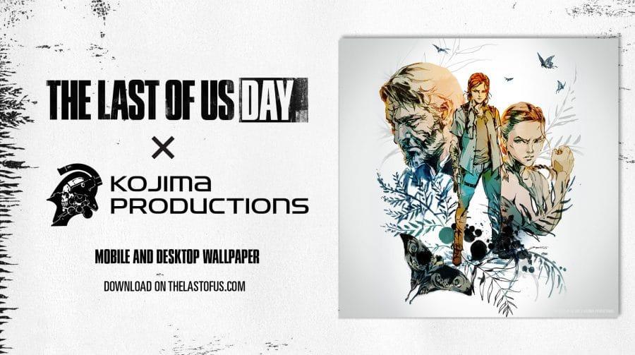 Naughty Dog lança wallpaper de The Last of Us 2 em colaboração com Kojima Productions