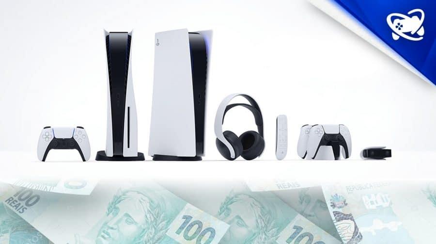 Sony revela preços dos acessórios do PS5 no seu site oficial