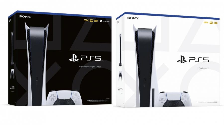 Sony revela caixas do PlayStation 5 e elas são lindas!
