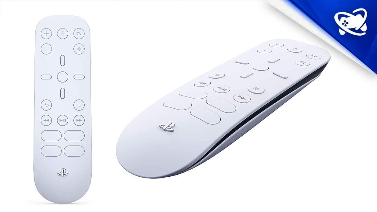 Controle Midia PS5