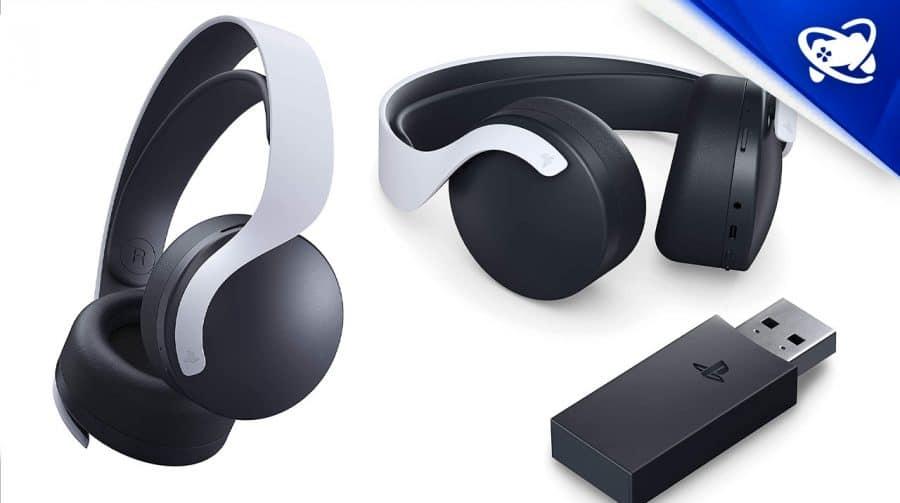 Limitado: headset sem fio PULSE 3D volta aos estoques
