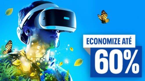 Até 60%! Sony lança promoção jogos na PlayStation Store com foco no PSVR