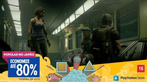 Sony lança promoção em jogos de PS4 com até 80% de descontos