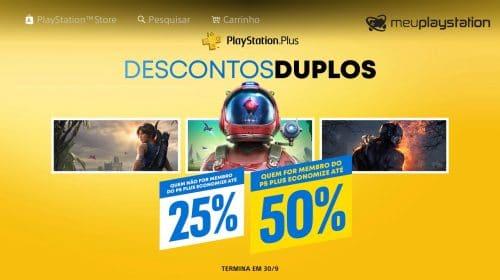 Descontos Duplos! Sony lança nova promoção em jogos de PlayStation 4