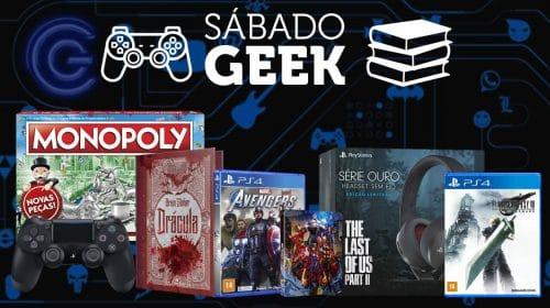 Sabadão da Economia: as melhores promoções geek do fim de semana