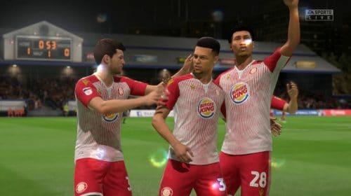 Como o Burger King tornou um clube da 4º divisão conhecido no FIFA 20
