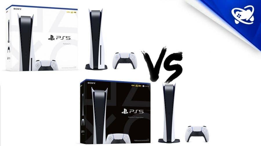 Conheça TODAS as diferenças entre os modelos de PS5
