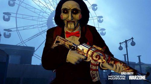 Assombração de Verdansk: Jigsaw chega em Modern Warfare e Warzone com trailer incrível