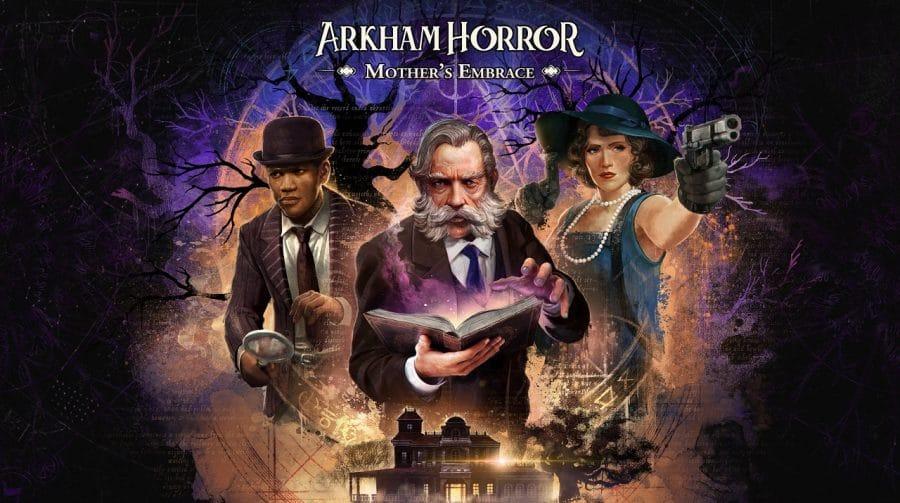 Adaptação do board game Arkham Horror chegará ao PS4