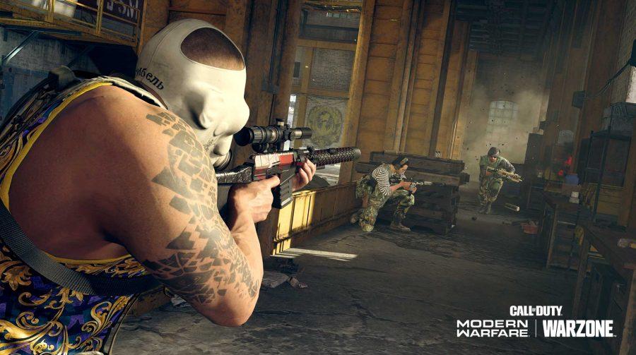 Atualização de Warzone corrige arma nova e nerfa sniper SP-R 208