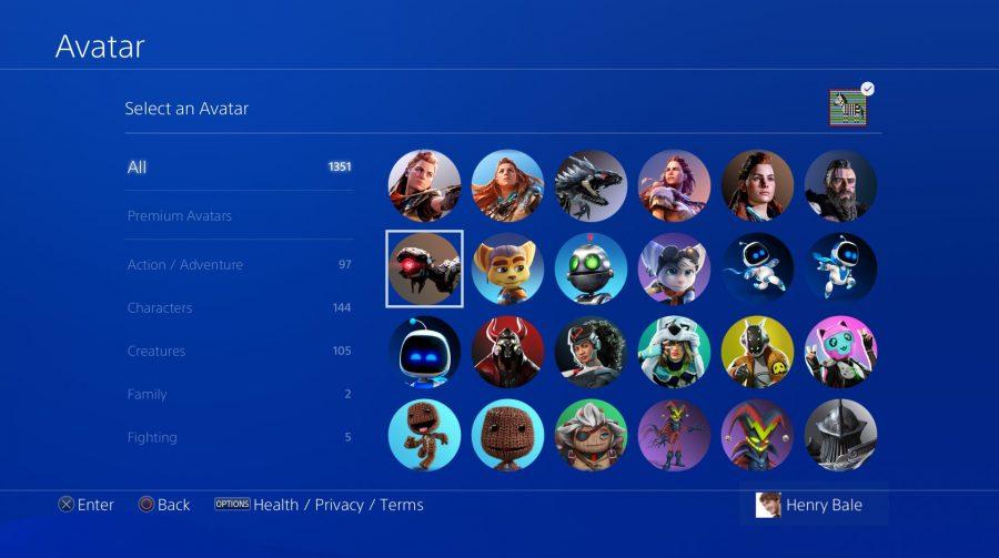 Com Aloy e Sackboy, Sony disponibilizará novos avatares na PSN