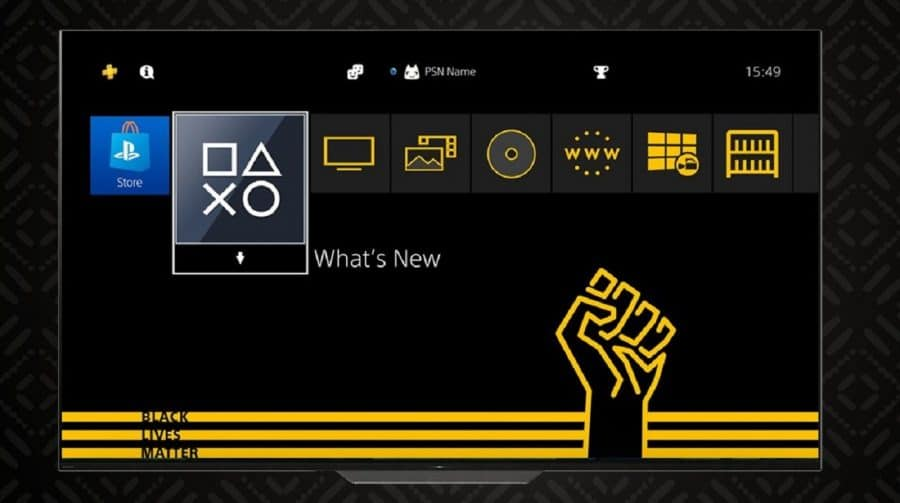 Sony lança tema de PS4 gratuito em homenagem ao