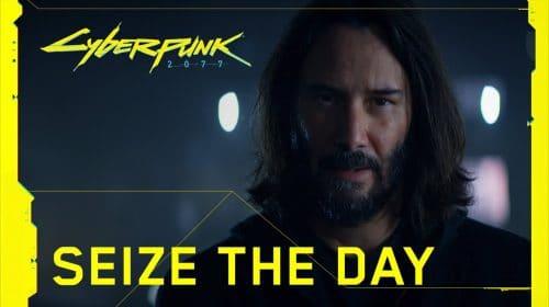 Keanu Reeves é destaque em comercial de Cyberpunk 2077