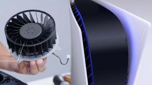 Desempenho do cooler do PS5 será o mesmo com o console de pé ou deitado, diz Sony