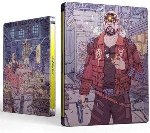 Cyberpunk 2077 edicao steelbook maelstrom