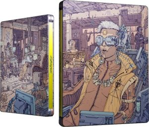 Cyberpunk 2077 edicao steelbook voodoo boys
