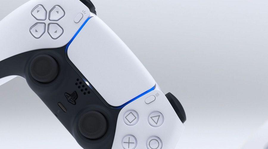 Luzes do controle do PS5 indicam qual jogador está ativo
