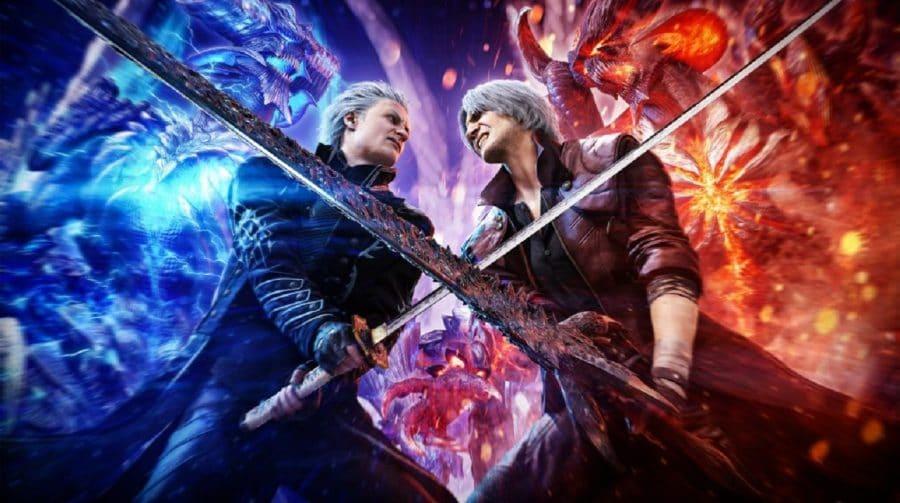 Vergil chega como DLC de Devil May Cry 5 no PS4 em dezembro