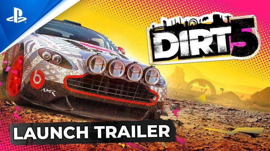 Pronto para se sujar? DiRT 5 ganha trailer de lançamento com destaque para tela dividida