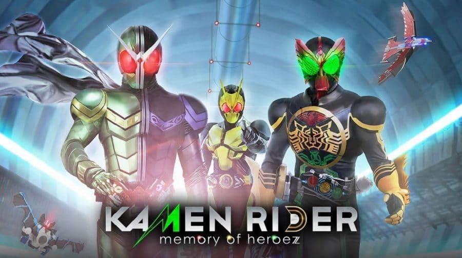 Novo gameplay de Kamen Rider mostra chefão e transformações