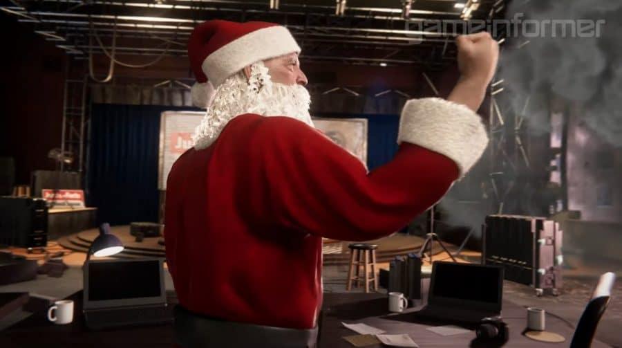 J. Jonah Jameson é Papai Noel em novo gameplay de Spider-Man Miles Morales