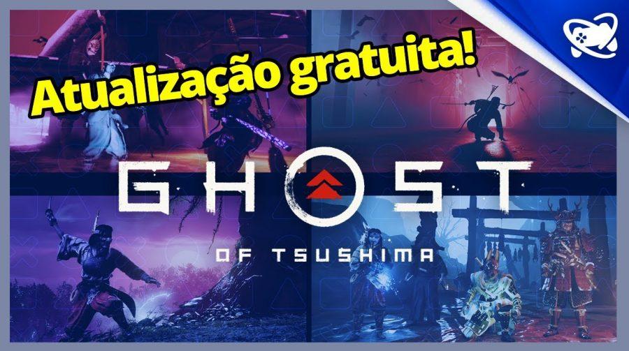 Ghost of Tsushima: informações sobre o multiplayer, New Game + e mais!