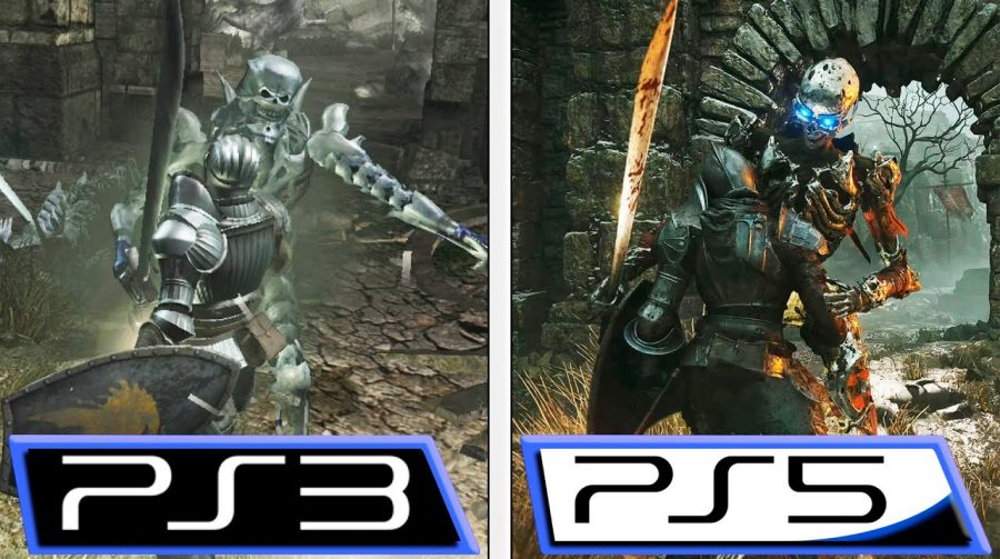 Compare os gráficos de Demon's Souls no PS3 vs. PS5