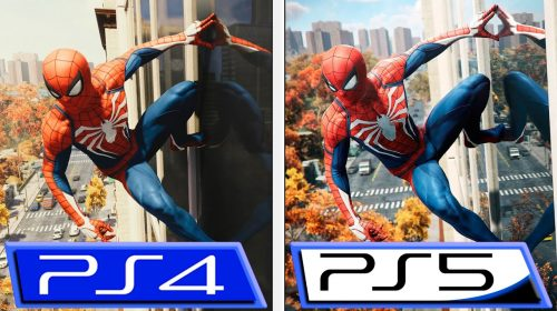 Compare os gráficos de Marvel's Spider-Man no PS4 e PS5