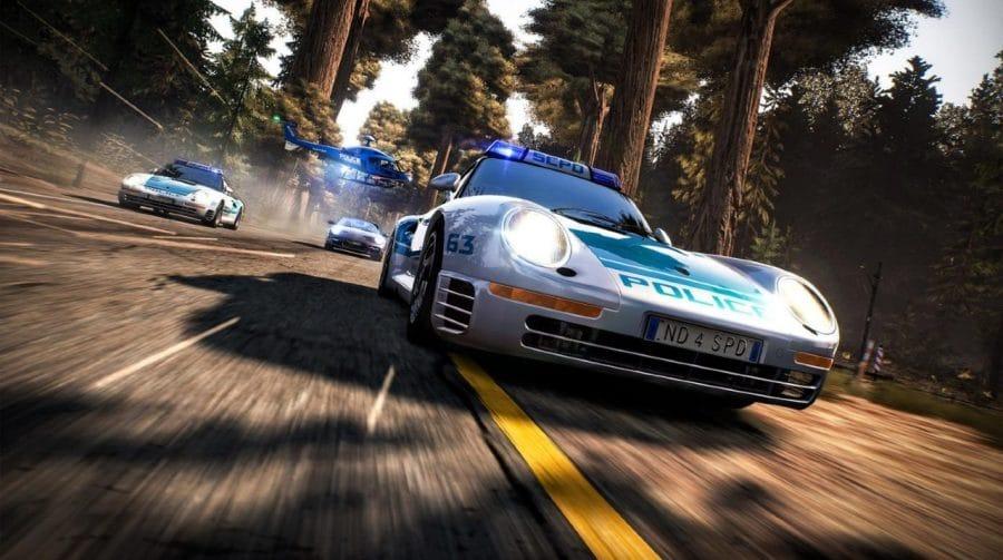 EA compara gráficos de Need For Speed Hot Pursuit de PS3 e PS4