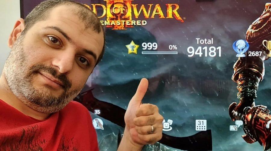 Jogador já atingiu nível 999 no novo sistema de troféus de PlayStation