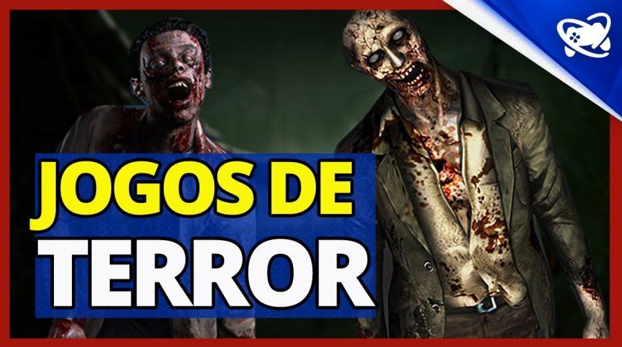 Jogos de terror do PS4 para você levar uns sustos no Halloween!